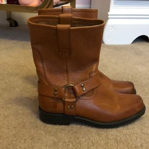Harness Pull On Frye Boots-Size Kids 1